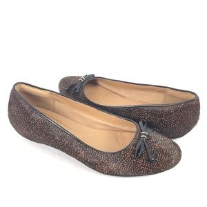 CLARKS | loafers fur speckled bow tie 9